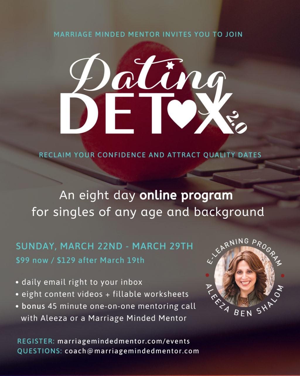 Dating Detox 2.0