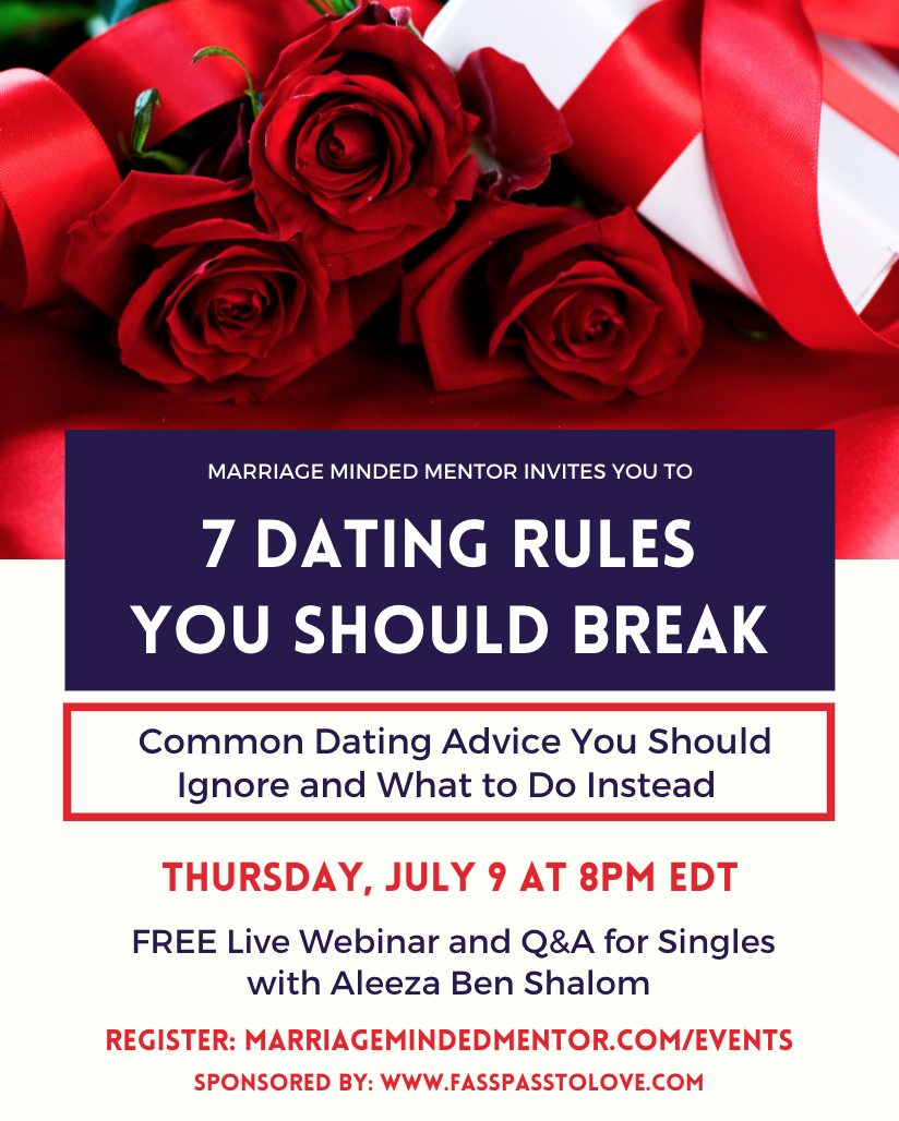 7 Dating Rules You Should Break