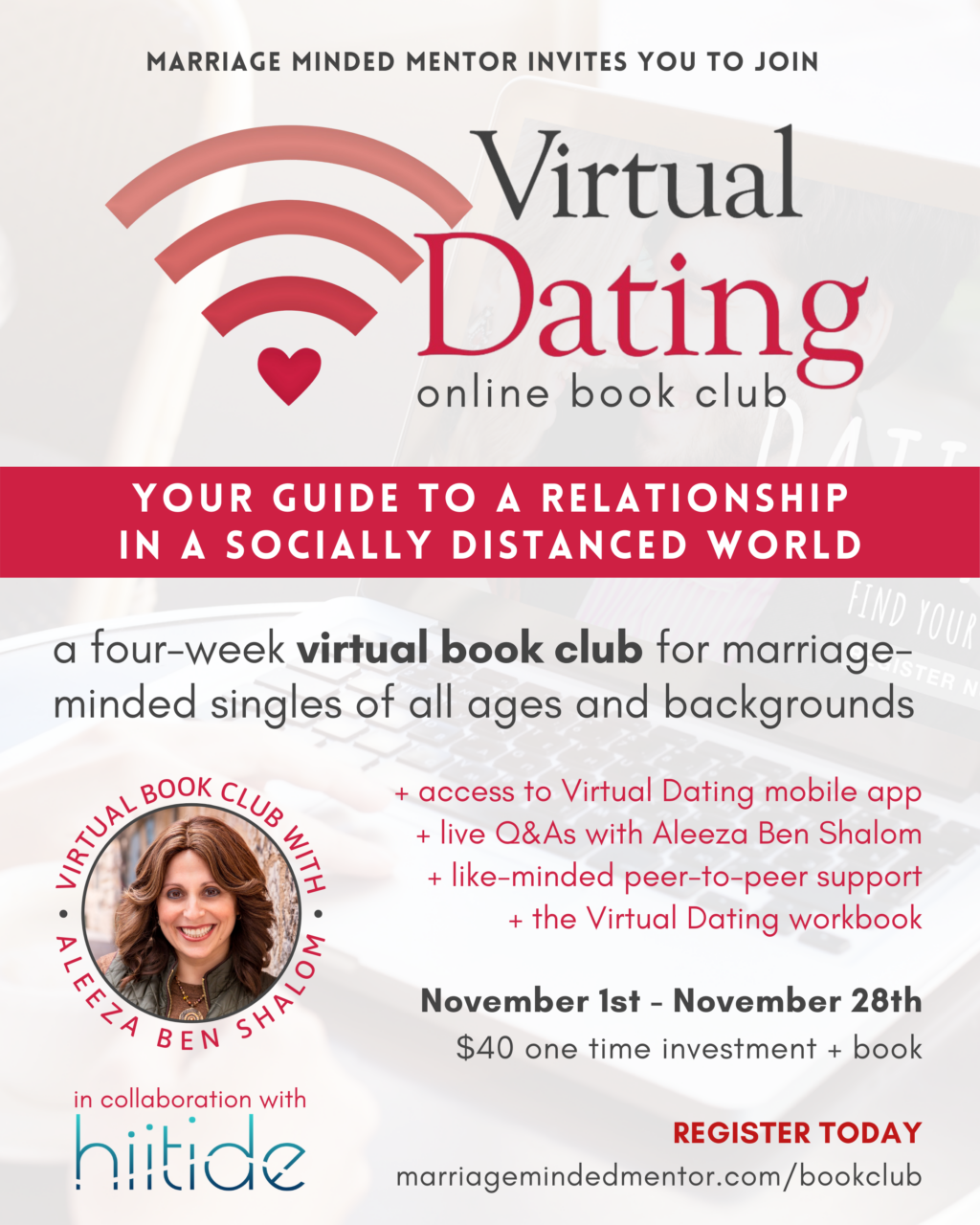 Virtual Dating Book Club